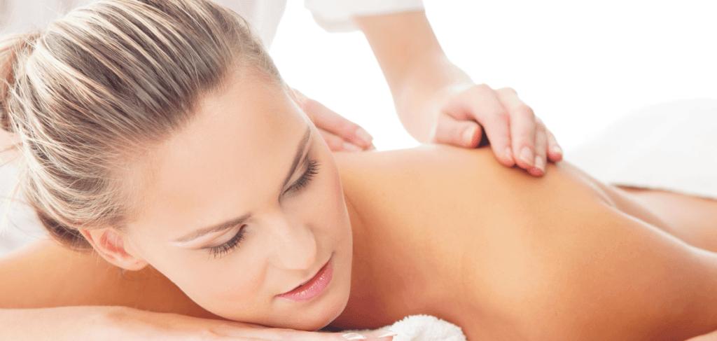 schoudermassage behandeling